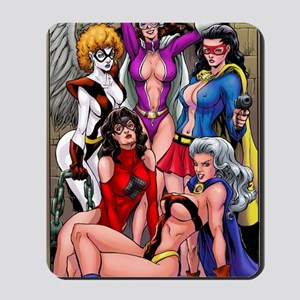 babes-pin-up-color 2 Mousepad