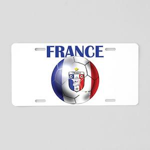 France Soccer Football Aluminum License Plate