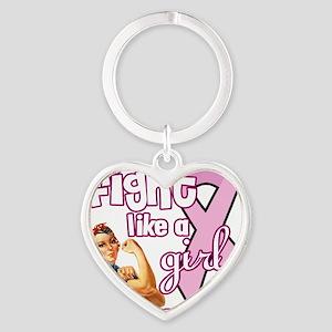 fightlikeagirl Heart Keychain