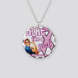fightlikeagirl Necklace Circle Charm