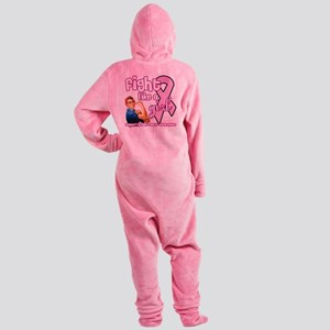 fightlikeagirl Footed Pajamas