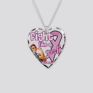 fightlikeagirl Necklace Heart Charm