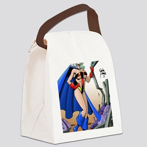 TITANESS CMYK Canvas Lunch Bag