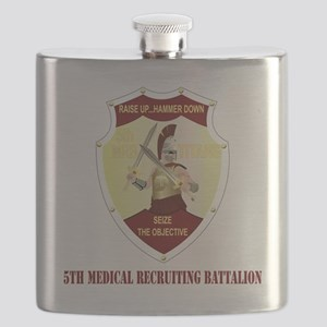DUI - 5TH MEDICAL RECRUITING BATTALION WITH  Flask