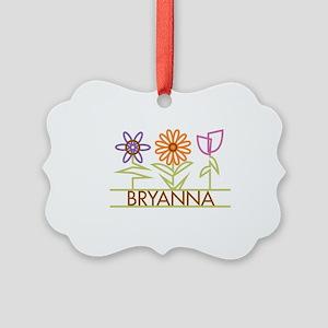 BRYANNA-cute-flowers Picture Ornament