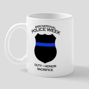 Police Week 1 Mug