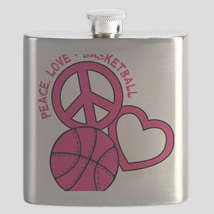 P,L,Basketball, melon Flask