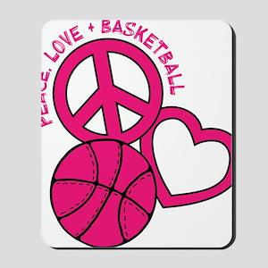 P,L,Basketball, melon Mousepad