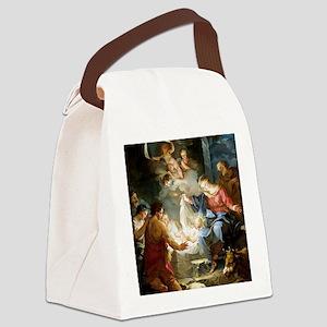 nativity4 Canvas Lunch Bag