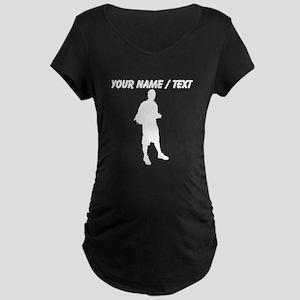 Custom Backpacker Maternity T-Shirt