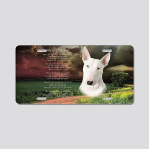 godmadedogs(oval) Aluminum License Plate