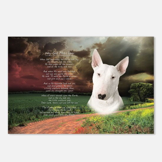 godmadedogs(oval) Postcards (Package of 8)