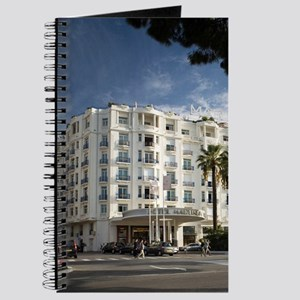 Martinez Hotel on main strip of Cannes, Fr Journal