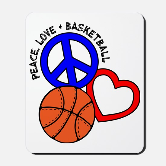P,L,Basketball, multi Mousepad