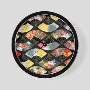 iPad Black Fans Wall Clock