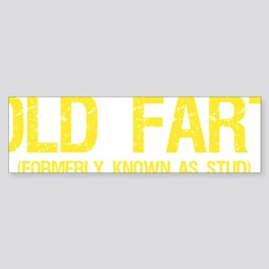 Old Fart, Formerly known as stud Sticker (Bumper)