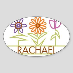RACHAEL-cute-flowers Sticker (Oval)