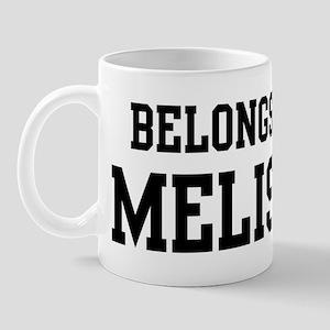 Belongs to Melissa Mug