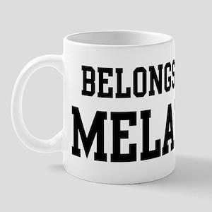 Belongs to Melany Mug