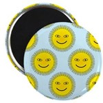 Smiling Sun Magnets