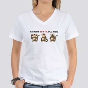 Hear No Evil... Women's V-Neck T-Shirt