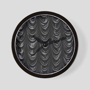 Cutrain_black_iPadSleeve Wall Clock