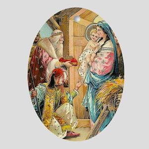 Epiphany - Three Kings Oval Ornament