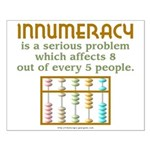 Innumeracy Small Poster