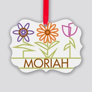 MORIAH-cute-flowers Picture Ornament