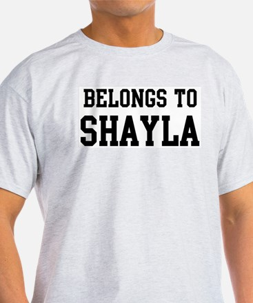 Belongs to Shayla T-Shirt
