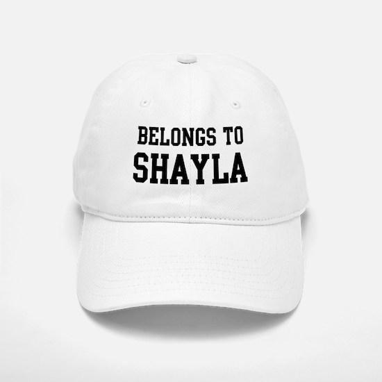 Belongs to Shayla Baseball Baseball Cap