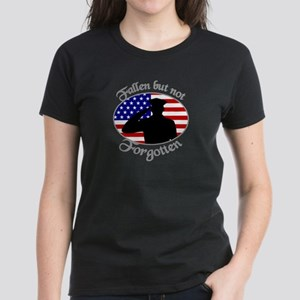 Fallen Officer Women's Dark T-Shirt