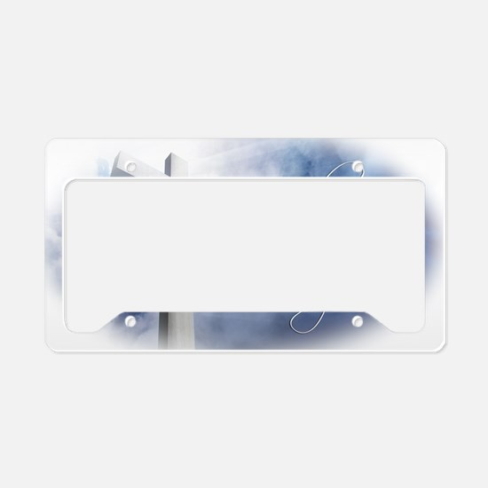 Lord-I-Lift-Your-Name License Plate Holder