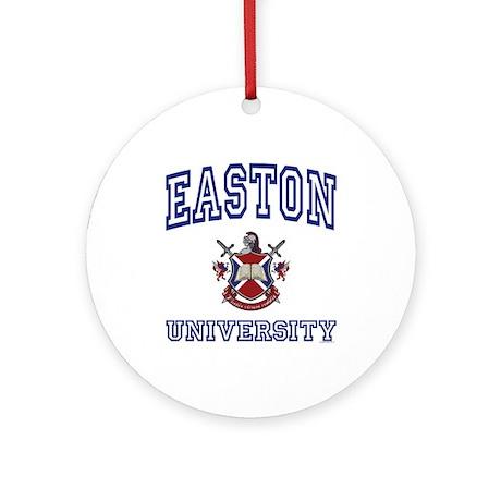 EASTON University Ornament (Round)
