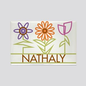 NATHALY-cute-flowers Rectangle Magnet