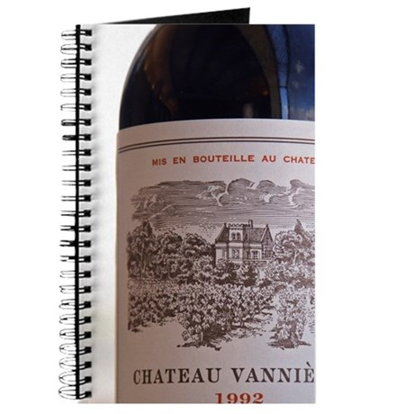 Bottle and glass of Ch Vannieres 1992 Chat Journal
