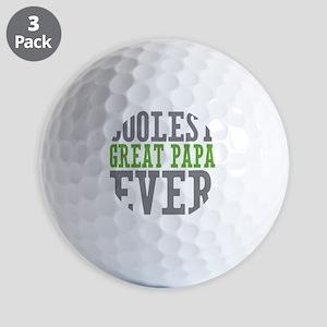 Coolest Great Papa Golf Balls