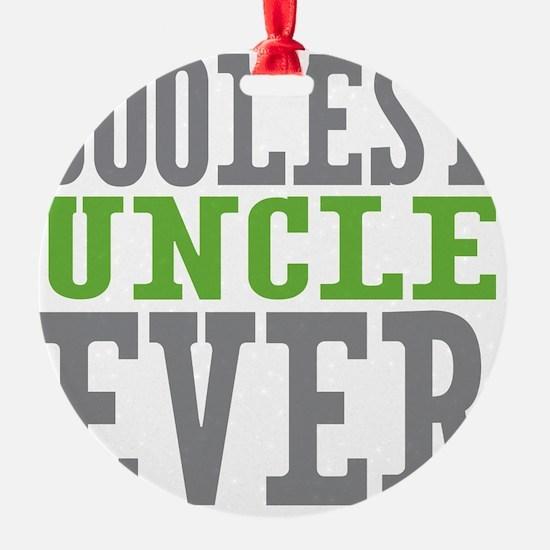 Coolest Uncle Ornament