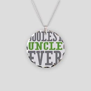 Coolest Uncle Necklace Circle Charm
