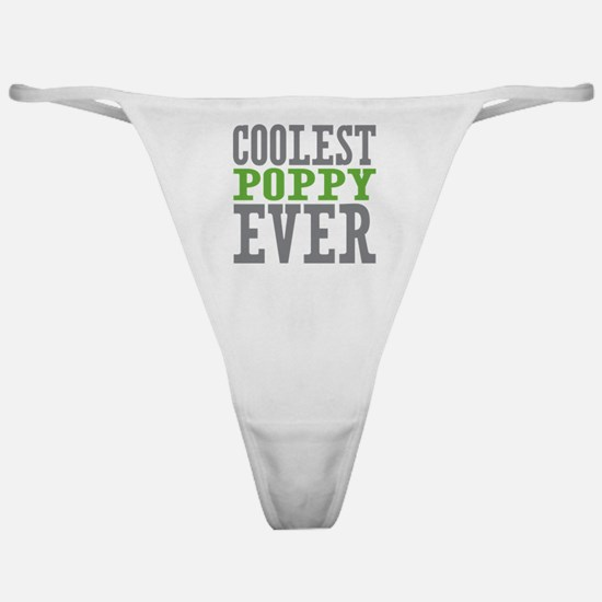 Coolest Poppy Classic Thong