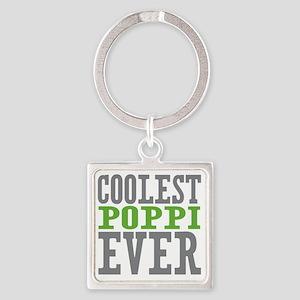 Coolest Poppi Square Keychain