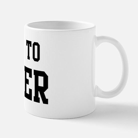 Belongs to Jenifer Mug