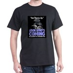 Look Whos Coming in February Dark T-Shirt
