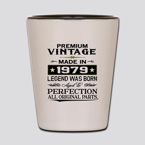 PREMIUM VINTAGE 1979 Shot Glass