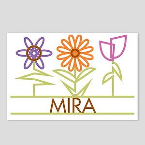 MIRA-cute-flowers Postcards (Package of 8)