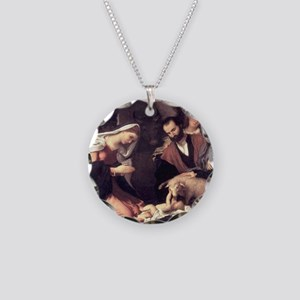 nativity99 Necklace Circle Charm