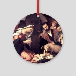 nativity99 Round Ornament