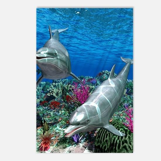 oceanworld_368_V_F Postcards (Package of 8)