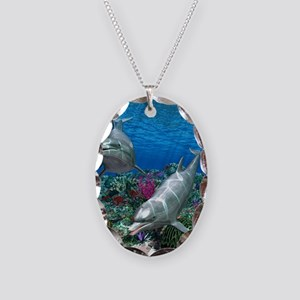 oceanworld_368_V_F Necklace Oval Charm