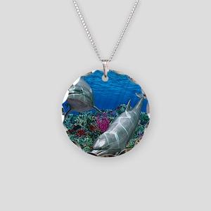 oceanworld_368_V_F Necklace Circle Charm